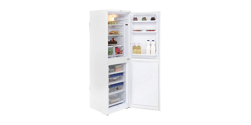 HOTPOINT - HBD5517W 235 Litre Freestanding Fridge Freezer