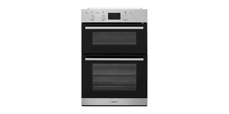 Hotpoint - DD2544CIX A Rated Stainless Steel Built-in Electric Double Oven