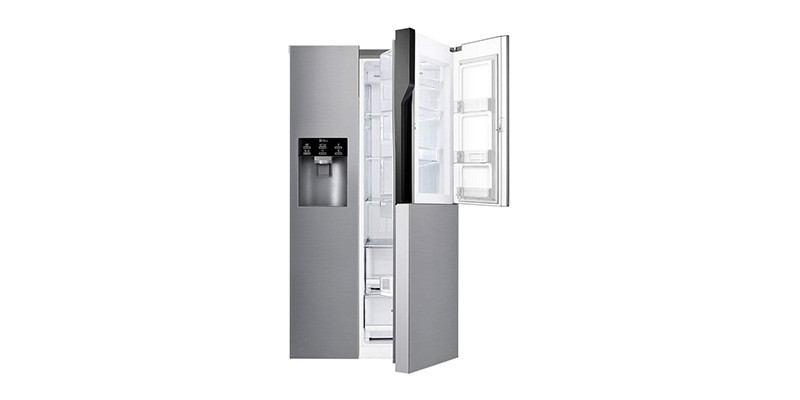 LG - GSJ560PZXV Freestanding A+ Rated American Fridge Freezer