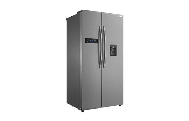 Russell Hobbs - Side by Side American Style Fridge Freezer A+ efficiency