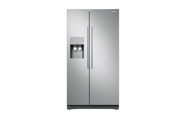 Samsung - RS50N3513SA No Frost Side-by-side Fridge Freezer