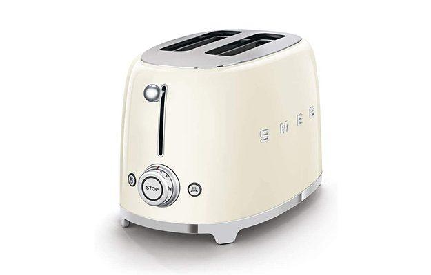 Smeg - TSF01CRUK Retro 2 Slice Toaster