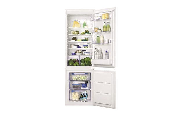 Zanussi - ZBB28651SV 70/30 Split Frost Free Fridge Freezer