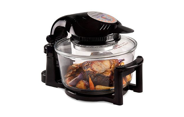 Andrew James - 12 Litre Halogen Oven with Hinged Lid