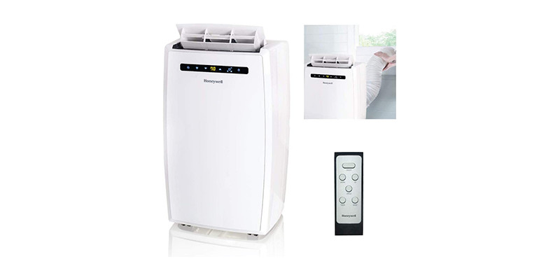 Honeywell - MN12CESWW Portable Air Conditioner with Dehumidifier & Fan
