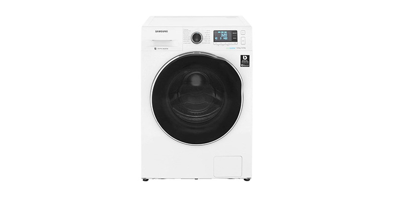 Samsung - WD90J6A10AW Washer Dryer with Ecobubble