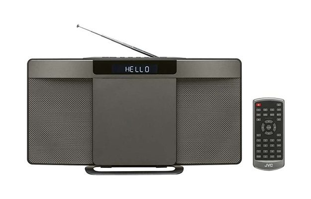 JVC - RD-D227B Wireless Flat Panel Hi-Fi System