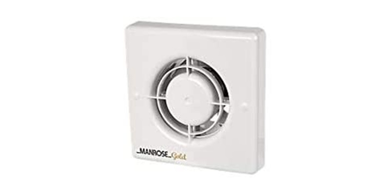 Manrose - Gold 4-inch Timer Fan