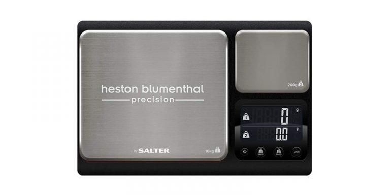 Salter - Heston Blumenthal Dual Platform Precision Digital Kitchen Scales
