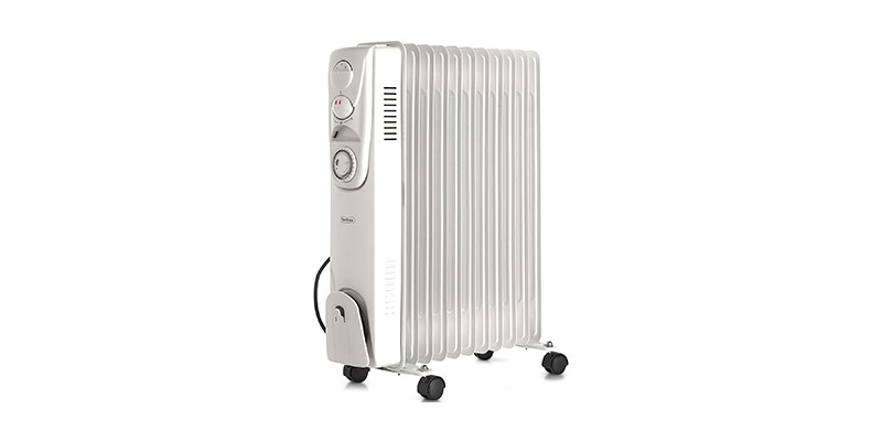 VonHaus - 2.5KW Plug in Oil Filled Portable Electric Heater