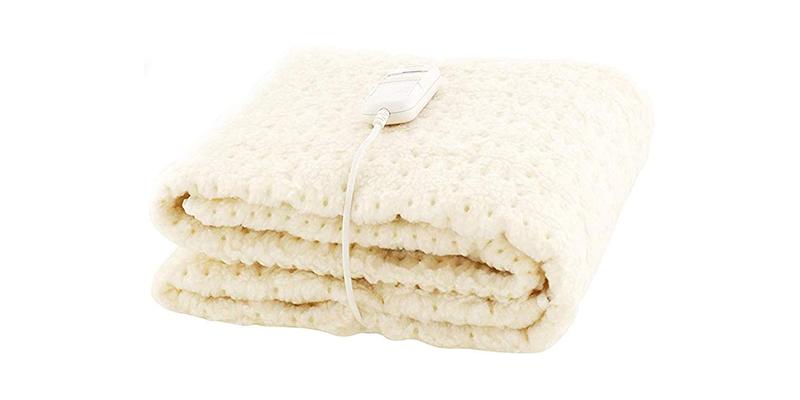 Monogram - Single Heated White Bedding