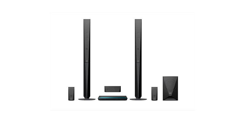 Sony - BDVE4100 5.1 Surround Smart 3D Home Cinema System