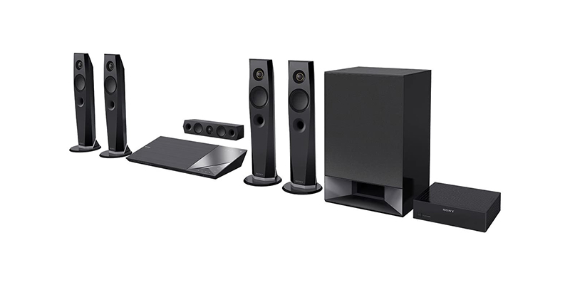 Sony - BDVN7200W 3D Blu-ray Home Cinema System