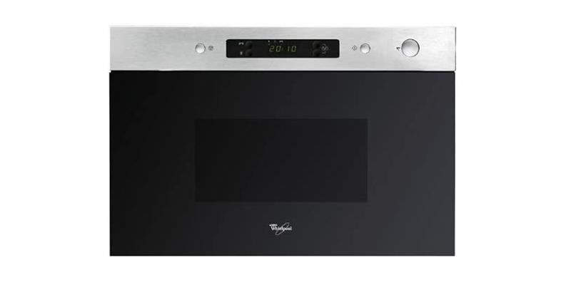 Whirlpool - AMW490IX Stainless Steel 22 Litre 750 Watt Built-in Microwave Oven