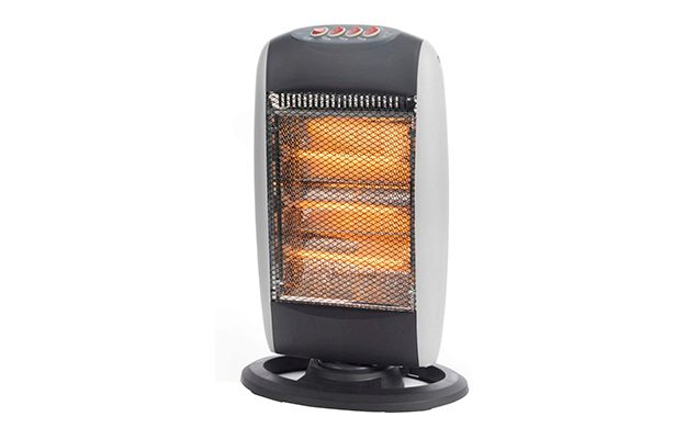 Prolectrix EH0197S 1200W Halogen Heater