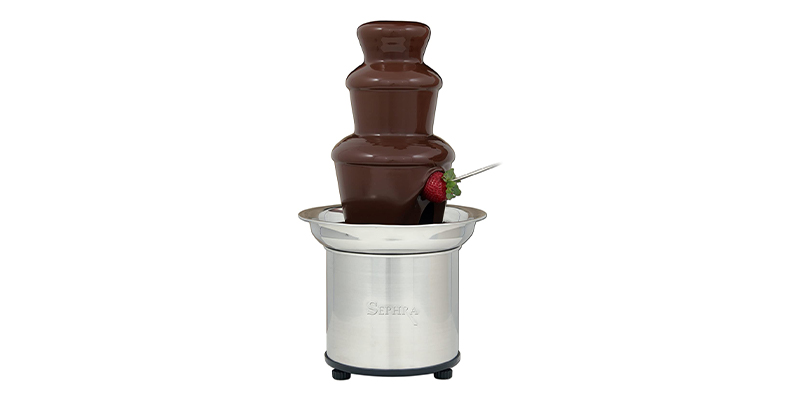 Sephra Select 1 3 Tier Professional Chocolate Fountain