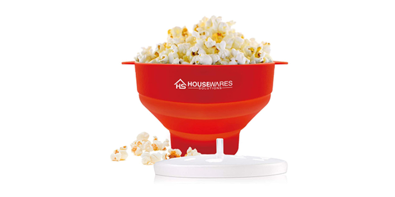 BRENSTEN Silicone Microwave Hot Air Popcorn Popper