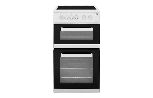 Beko ADC5422AW 50cm Electric Cooker with Ceramic Hob