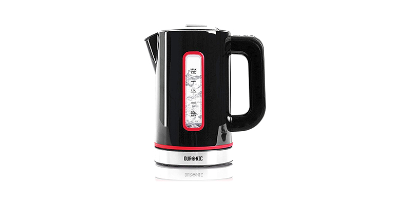 Duronic - Electric Kettle EK30 BK 3KW Variable Temperature Control