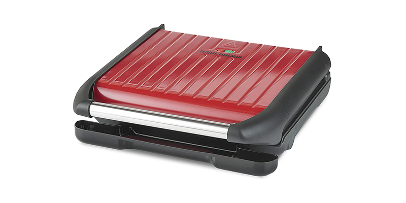 George Foreman - Large Red Steel Grill 25050
