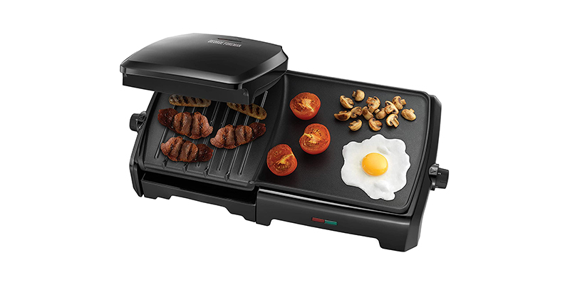 George Foreman - Large Variable Temperature Grill & Griddle 23450