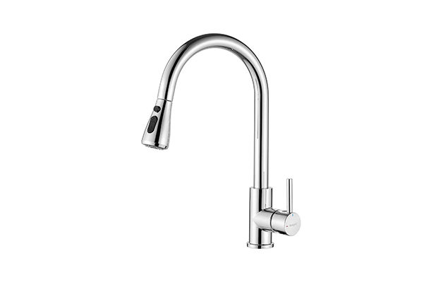 Ibergrif - Pull-Out Single Lever Mixer Kitchen Tap