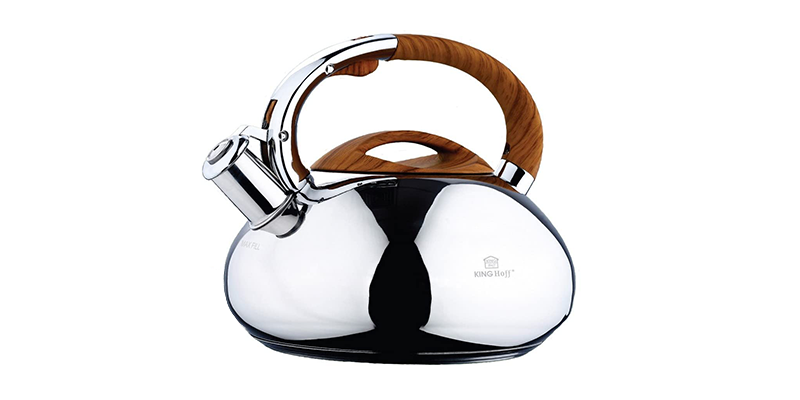 KING HOFF Stainless Steel Induction Whistling Kettle