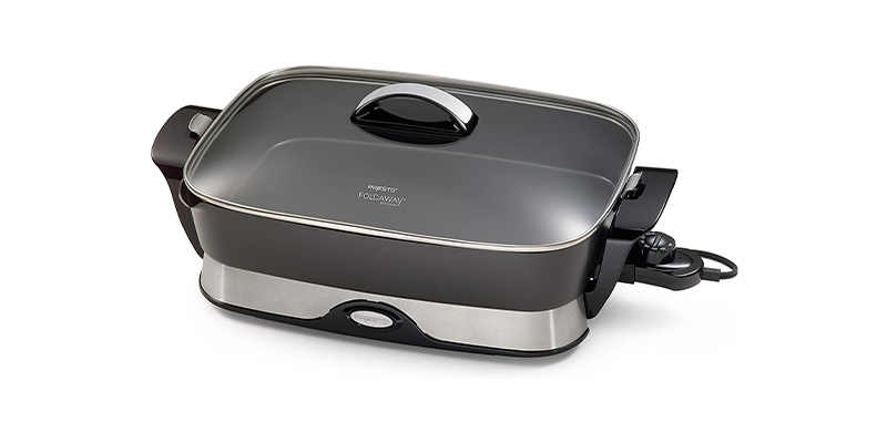 Presto 06857 16-inch Electric Foldaway Electric Frying Pan
