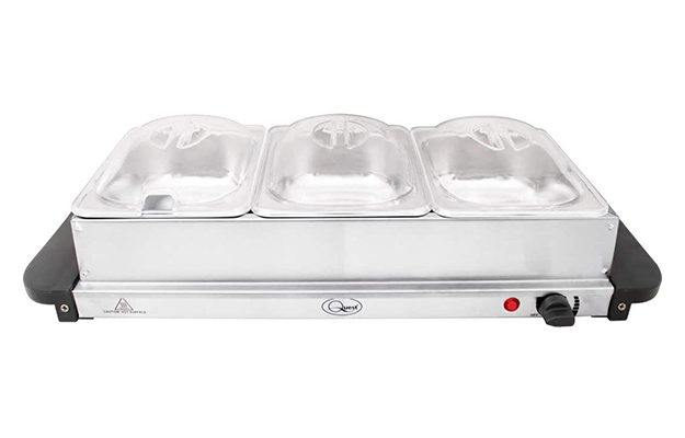 Quest - 16520 Compact Buffet Server and Warming Tray