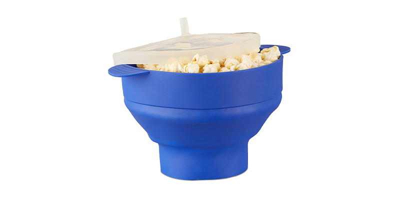 Relaxdays Silicone Microwave Popcorn Maker