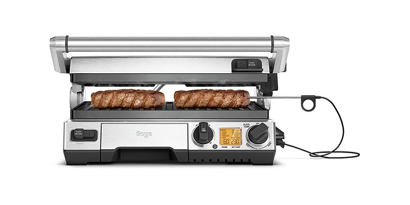 Sage - BGR840BSS the Smart Grill Pro