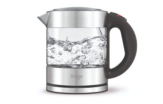 Sage the Compact Glass Kettle BKE395UK