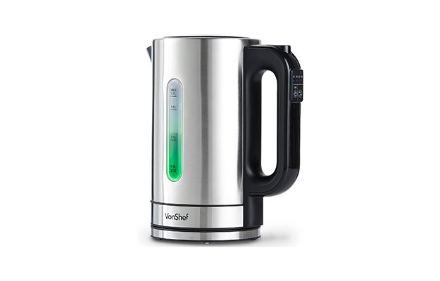 VonShef - Electric Kettle with Variable Temperature Control