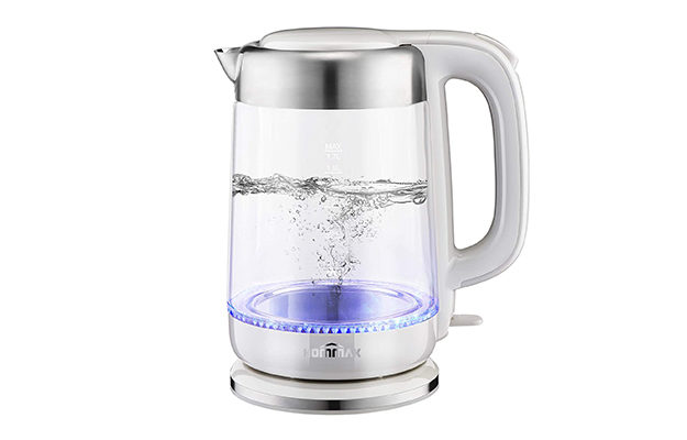 iKich Cordless Eco Glass Electric Kettle