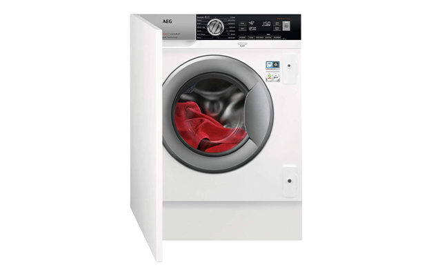 AEG ProSteam Technology L7FC8432BI Integrated 8Kg Washing Machine with 1400 rpm