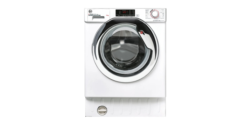 Hoover H-WASH 300 LITE HBWS49D1ACE Integrated 9Kg Washing Machine with 1400 rpm