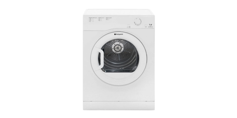 Hotpoint Aquarius TVFM70BGP 7Kg Vented Tumble Dryer