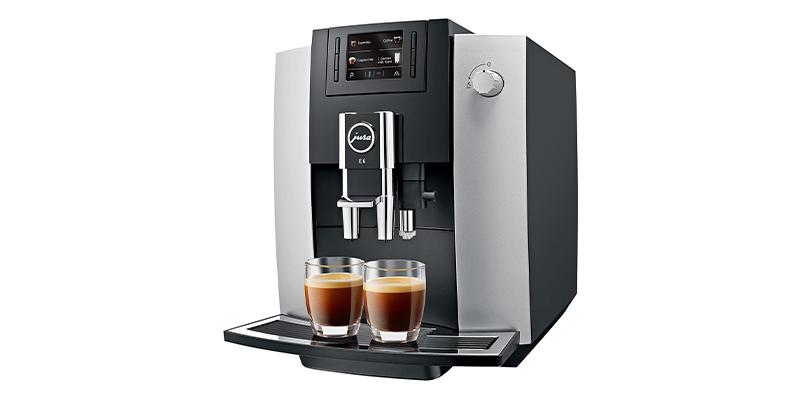 Jura E6 15350 Bean to Cup Coffee Machine
