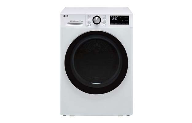 LG V9 FDV909W Wifi Connected 9Kg Heat Pump Dryer