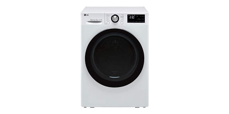 LG V9 FDV909W Wifi Connected 9Kg Heat Pump Dryer