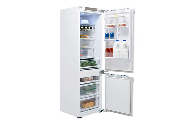 Samsung BRB260134WW Integrated 70-30 Frost Free Fridge Freezer