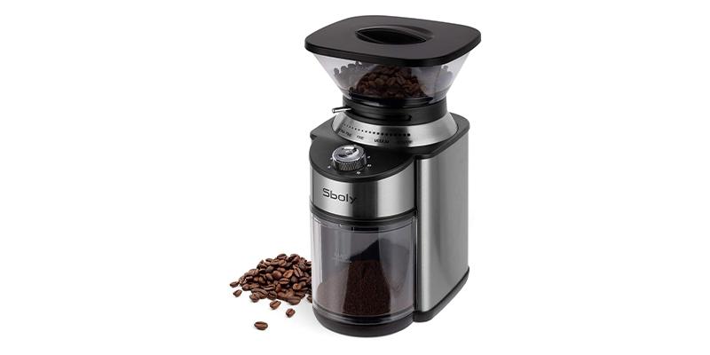 Sboly Conical Burr Coffee Grinder