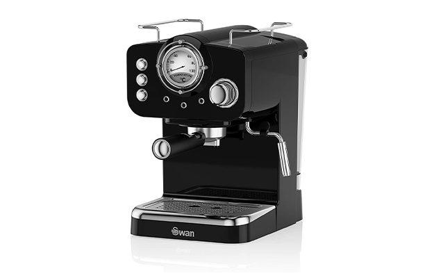 Swan Retro SK22110BN Espresso Coffee Machine