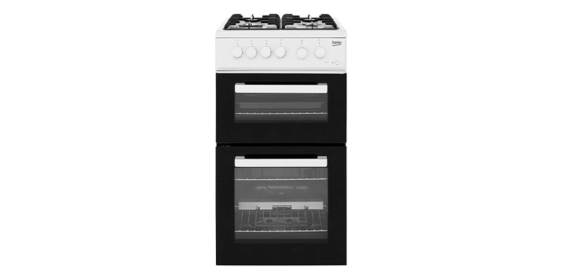 Beko KDG581W 50cm Gas Cooker with Full Width Gas Grill