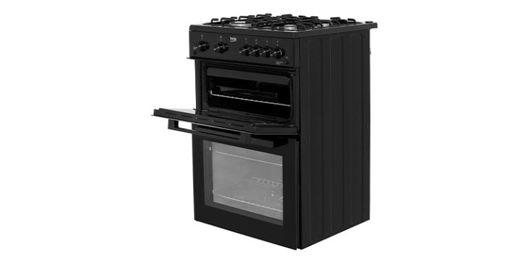 Beko KTG611K 60cm Gas Cooker with Full Width Gas Grill