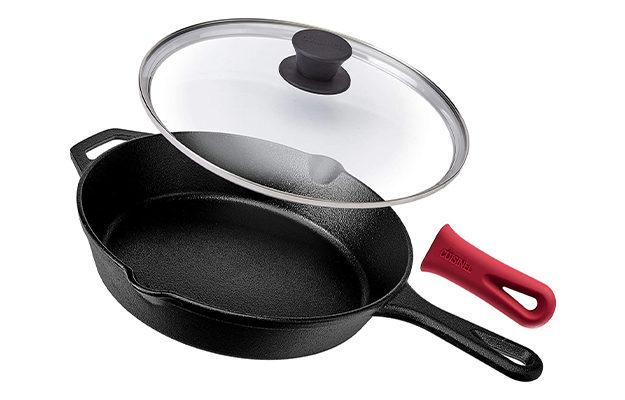 Cuisinel 25.4cm Cast Iron Skillet